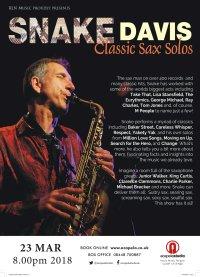 Snake Davis - Classic Sax Solos image