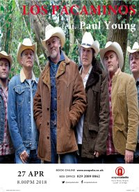 Los Pacaminos featuring Paul Young image