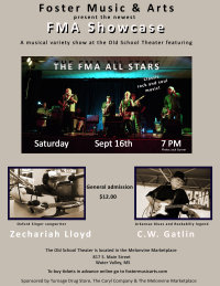 FMA Showcase #5 with the FMA All Stars, Zechariah Lloyd and C.W. Gatlin image