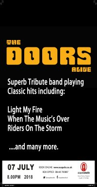 The Doors Alive - A tribute to The Doors image