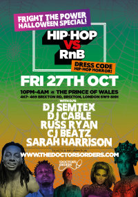 Hip-Hop vs RnB - Fright The Power - Halloween Special image