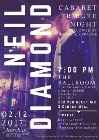 Neil Diamond Tribute Cabaret Night image