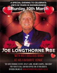 Joe Longthorne Live at Cranage Hall image