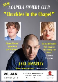 "Acapela Comedy Club -""Chuckles in the Chapel"" image"