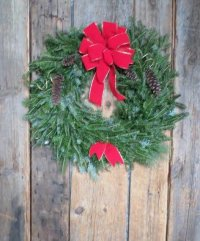 Evergreen Wreath Workshop image