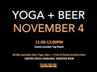 Yoga + Beer at Grand Junction Tap Room image