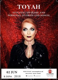 Toyah  - Acoustic, Up Close and Personal image