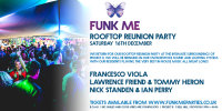 FUNK ME Rooftop Reunion - Saturday 16th December image