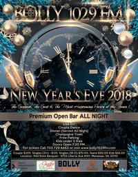 Bolly 102.9 FM New Year's Eve 2018 image