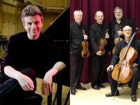 Coull Quartet & Mark Bebbington image