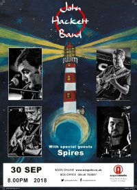 John Hackett Band with support - SPIRES image