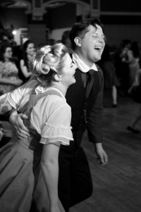 Lindy hop taster class in the Bothy image