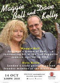 Maggie Bell and Dave Kelly image
