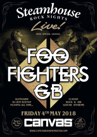 Steamhouse Rock Nights presents Foo Fighters GB image