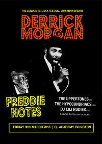 Derrick Morgan, Freddie Notes, The Uppertones, The Hypocondriacs, The Barracutas +more! image
