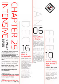 Chapter 25 Instensive Seminar Series - Understanding Hijab, Khimar & Niqab image