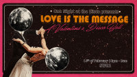 SWG3 and Melting Pot present Love is the Message, a Valentines Disco Ball image
