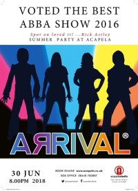 Abba Arrival (The UK's leading Abba Tribute Band) image
