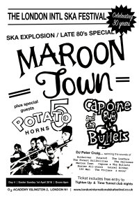 Maroon Town, Potato 5 horns, Capone & The Bullets & more image