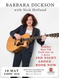 Barbara Dickson with Nick Holland image