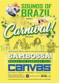 Sounds of Brazil Carnival party ! image