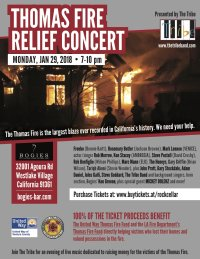 Thomas Fire Relief Concert Presented by The Tribe image