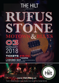 RUFUS STONE - Mowtown & Blues image