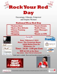 Rock Your Red Day -Sponsors / Tickets image