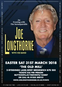 JOE LONGTHORNE WITH HIS BAND  AT 'THE OLD MILL' WEST BROMWICH image