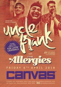 Uncle Frank LIVE plus The Allergies image