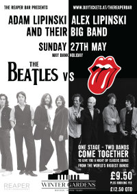 The Beatles Vs The Rolling Stones with the Lipinskis image