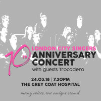 London City Singers' 10th anniversary concert image