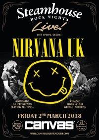Steamhouse Rock Nights presents Nirvana image