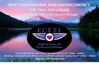 2018 ECETI Experience Multi-Dimensional Star Nation Contact - Palm Desert, CA image