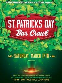 St Patricks Day Philly Bar Crawl image