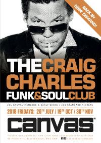 Craig Charles Funk & Soul Club ON SALE SUN 28TH JAN image