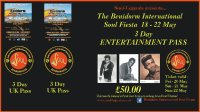 Benidorm International Soul Fiesta 2016 3 day Pass image
