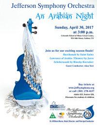 JSO Season Closing Concert-An Arabian Night image