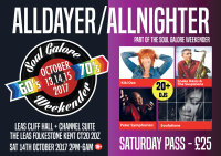Soul Galore Northern and Modern Soul Weekender Kiki Dee + Snake Davis & The Suspicions + Soulutions + Peter Symphorien image