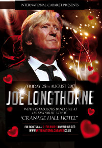 Joe Longthorne Live at Cranage Hall image