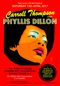 Carroll Thompson sings Phyllis Dillon ska festival Thames cruise 2 image