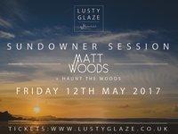 Matt Woods + Haunt the Woods - Sundowner Session image