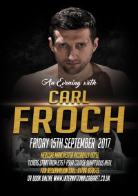 An Evening With Carl (The Cobra) Froch image