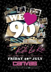 We Love 90's feat Kele Le Roc image