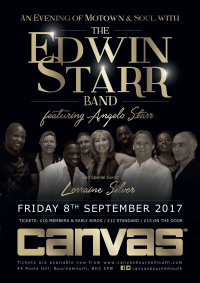 Motown! Feat The Edwin Starr Band image