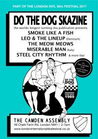 Do The Dog skazine bash: Smoke Like A Fish, Leo & The LineUp, Meow Meows, Miserable Man & more image