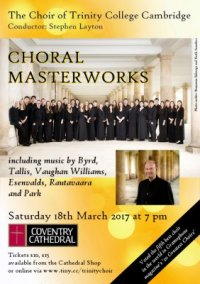 Choral Masterworks - The Choir of Trinity College Cambridge image