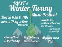 KMXT's Winter Twang Music Festival 2017 image