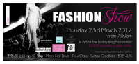 Charity Fashion Show - All proceeds to The Buddy Bag Foundation image
