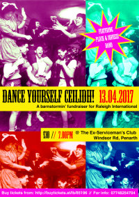 Dance Yourself Ceilidh! - Raleigh International Fundraiser image